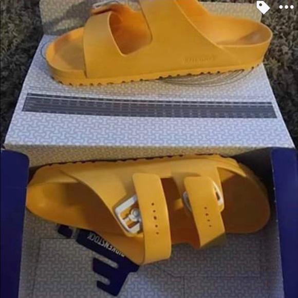 6032785a0 Scuba Yellow Mens Birkenstock size 11 BRAND NEW